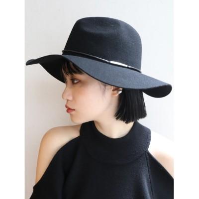 MURUA / フェイクレザーバンドマニッシュハット WOMEN 帽子 > ハット
