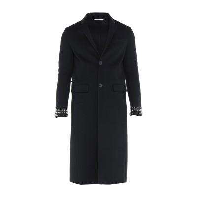 ヴァレンティノ VALENTINO コート ブラック 48 バージンウール 90% / カシミヤ 10% コート