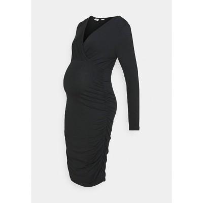 ママリシャス ワンピース レディース トップス NURSING DRESS - Shift dress - black