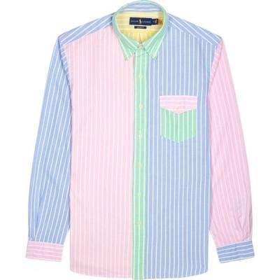 ラルフ ローレン Polo Ralph Lauren メンズ シャツ ワイシャツ トップス striped custom cotton oxford shirt Multi