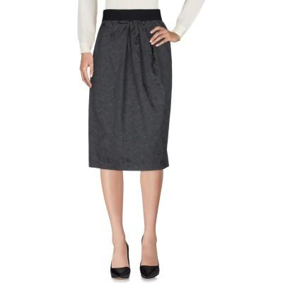 レ コパン LES COPAINS ひざ丈スカート スチールグレー 40 ポリエステル 63% / ナイロン 32% / ポリウレタン 5% ひざ丈