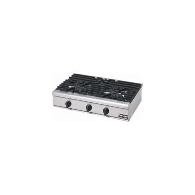 マルゼン NEWパワークックガステーブルコンロ 型式:RGC-096(H)D 送料無料(メーカーより直送)メーカー保証付トップバーナー大φ165×2、小95φ×1