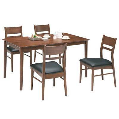 ダイニングテーブルセット ダイニングセット 5点 食卓セット 4人用