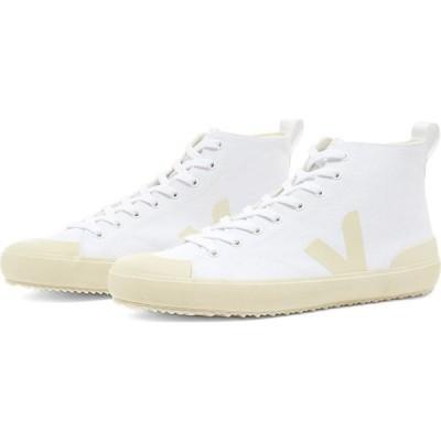 ヴェジャ Veja メンズ スニーカー シューズ・靴 Nova Canvas Hitop Vegan Sneaker White