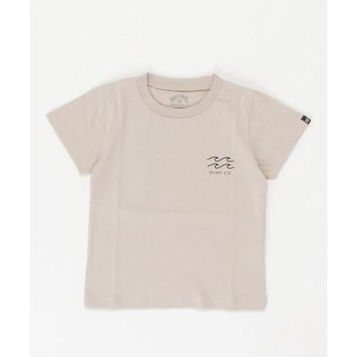 tシャツ Tシャツ BILLABONG キッズ CLEAN LOGO Tシャツ (90〜160)【2021年春夏モデル】/ビラボンキッズ半袖ロゴバック