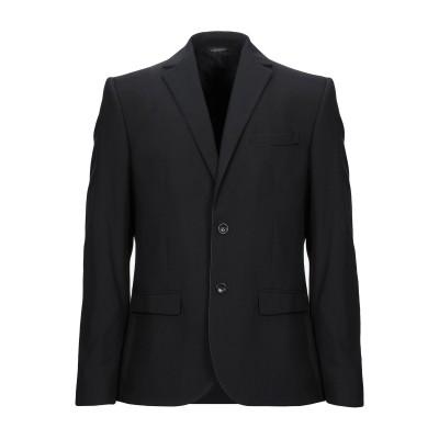 ダニエル アレッサンドリーニ DANIELE ALESSANDRINI テーラードジャケット ブラック 52 ポリエステル 65% / レーヨン 3
