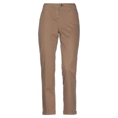 PENNYBLACK パンツ ブラウン 48 コットン 97% / ポリウレタン 3% パンツ