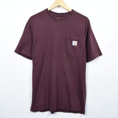 カーハート ワンポイントロゴポケットTシャツ L /eaa039804