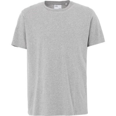 カラフルスタンダード COLORFUL STANDARD メンズ Tシャツ トップス T-Shirt Grey