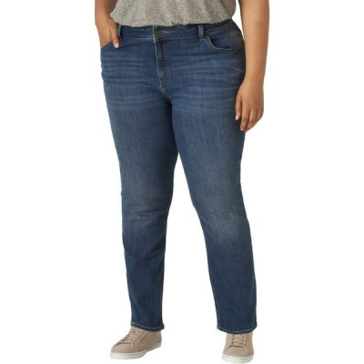 リー Lee レディース ジーンズ・デニム ボトムス・パンツ Regular Fit Straight Leg Jeans (Plus) Seattle