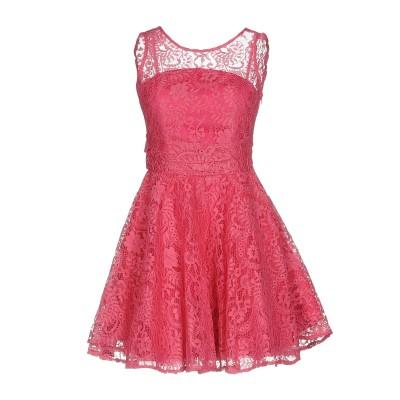 NO SECRETS ミニワンピース&ドレス フューシャ 44 ナイロン 100% / ポリエステル ミニワンピース&ドレス