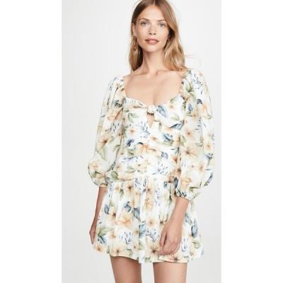 ベック アンド ブリッジ Bec & Bridge レディース ワンピース ミニ丈 ワンピース・ドレス fleurette mini dress Floral Print