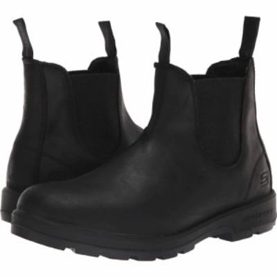 スケッチャーズ SKECHERS メンズ ブーツ シューズ・靴 Relaxed Fit Molten - Gavero Black