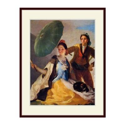 複製画 額付き:ゴヤ・「Francisco Goya」