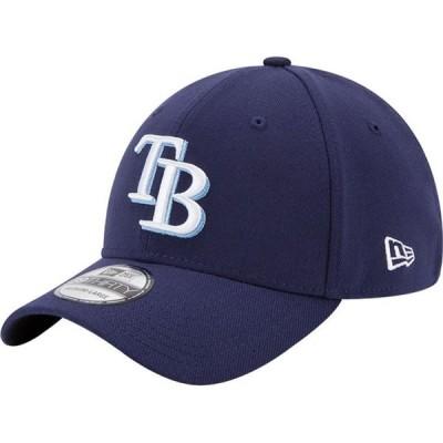 ニューエラ New Era メンズ キャップ 帽子 Tampa Bay Rays 39Thirty Classic Navy Stretch Fit Hat