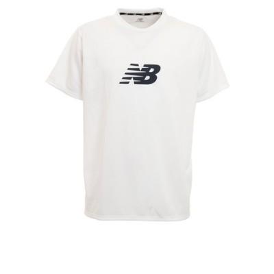 ニューバランス(new balance)サッカー ウェア メンズ 半袖 Tシャツ ロゴ ショートスリーブ JMTT0102WT