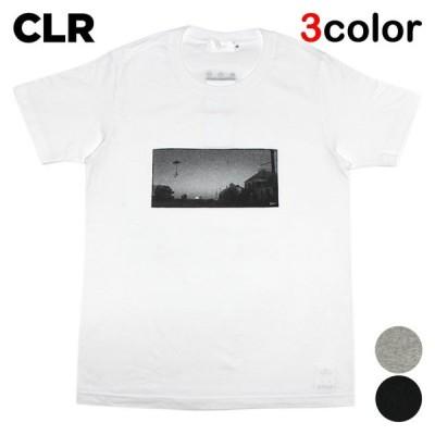 セール シーエルアール Tシャツ CLR メンズ レディース 半袖 クルーネック アート グラフィック wt gy bk
