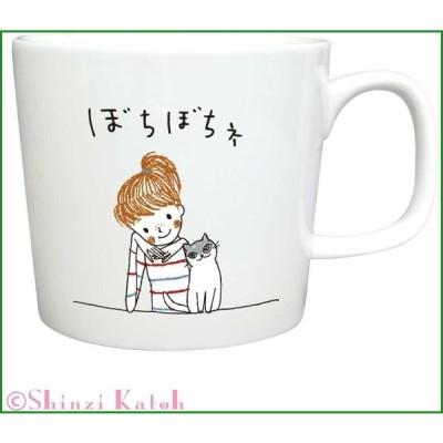 Shinzi Katoh Cheri マグ ぼちぼちね ARK-1483-4|b03