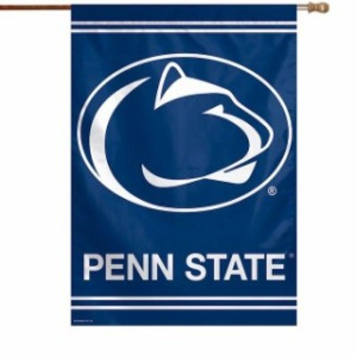 WinCraft ウィンクラフト スポーツ用品  WinCraft Penn State Nittany Lions 28 x 40 Primary Logo Navy Single-Sided Vert