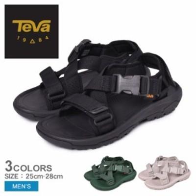 夏新作 テバ サンダル メンズ ハリケーン バージ 黒 ブラック シルバー グリーン TEVA 1121534 テヴァ アウトドア ストラップサンダル ス