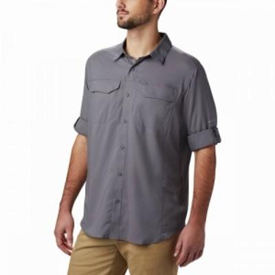 コロンビア Columbia メンズ シャツ トップス Silver Ridge Lite Long - Sleeve Shirt City Grey