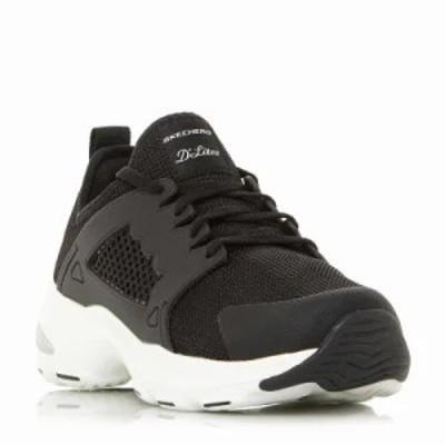 スケッチャーズ スニーカー D`lite Ultra Chunky Lace Sneakers black