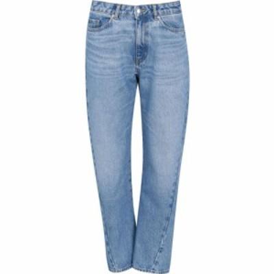 ヒューゴ ボス Boss レディース ジーンズ・デニム ボトムス・パンツ Hugo Straight Crop Jeans Navy
