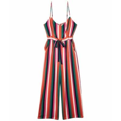 ビービーダコタ ジャンプスーツ トップス レディース Flying Colors Printed Heavy Rayon Jumpsuit Multi Stripe