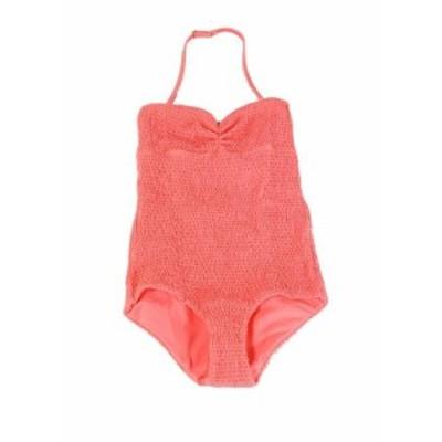 Tori Praver トリ プラバー スポーツ用品 スイミング Tori Praver NEW Pink Womens Size XS Smocked Halter One-Piece Swimsuit