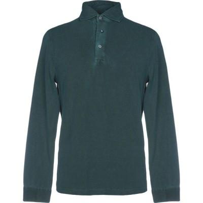 ヘリテイジ HERITAGE メンズ ポロシャツ トップス polo shirt Dark green