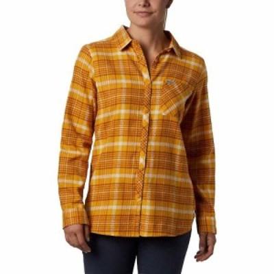 コロンビア Columbia レディース ブラウス・シャツ フランネルシャツ トップス Simply Put II Flannel Shirt Raw Honey Dobby