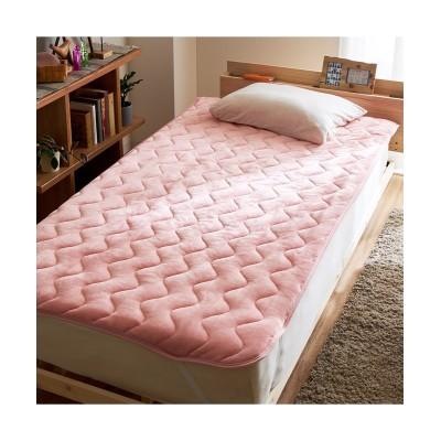 【お買い得】ふんわりなめらかフランネル素材の敷きパッド 敷きパッド・敷パッド, ベッドパッド, Bed pats(ニッセン、nissen)