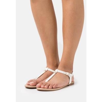 アンナフィールド レディース 靴 シューズ T-bar sandals - white