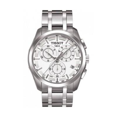 腕時計 ティソ メンズ T035.617.11.031.00 TissotT0356171103100 Men's Couturier Silver Dial Watch