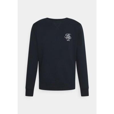 ブレイブソウル メンズ ファッション ARTHUR - Sweatshirt - jet black/optic white