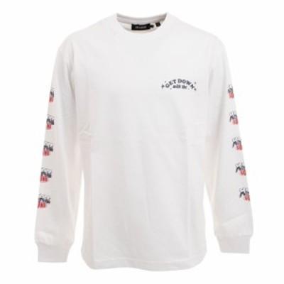 エクストララージ(XLARGE)Tシャツ メンズ 長袖 SOUND 101212011018-WHITE(Men's)