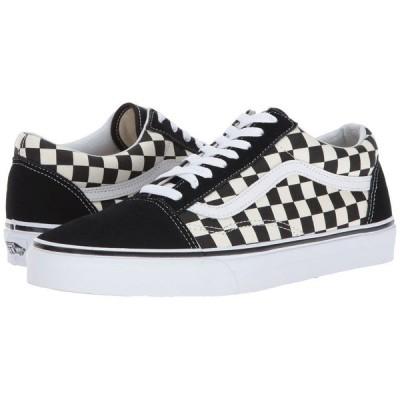 ヴァンズ Vans メンズ スニーカー シューズ・靴 Old Skool(TM) Primary Check) Black/White