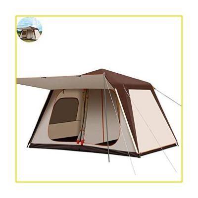 【新品 送料無料】Family Camping Tents Camping Tents 4-6 People, Outdoor Pop-Up Tents, Automatic Dome Tents, Thick Tunnel Tents For C