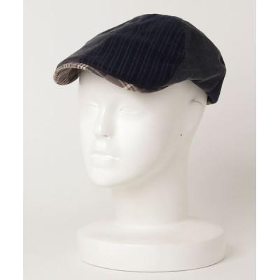 ZOZOUSED / チェック柄ハンチング MEN 帽子 > ハンチング/ベレー帽
