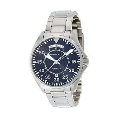 [ハミルトン] 腕時計 カーキ パイロット デイデイトオート 機械式自動巻き H64615135 正規輸入品 シルバー
