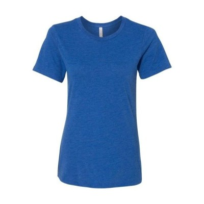 レディース 衣類 トップス Bella + Canvas T-Shirts Women's Relaxed Short Sleeve Jersey Tee Tシャツ