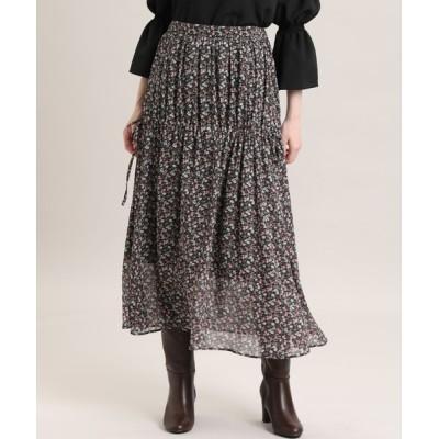 SUPERIOR CLOSET / 《Maglie par ef-de》ミックスフラワースカート WOMEN スカート > スカート