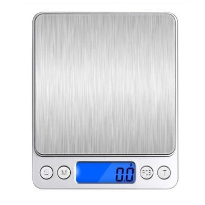 デジタルスケール 0.1gから3000gまで計量可能 計数機能 風袋引き機能 オートオフ機能付き精密な電子はかり