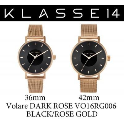 KLASSE14 クラス14 腕時計 VOLARE VO16RG006 36mm 42mm ブラックローズゴールド