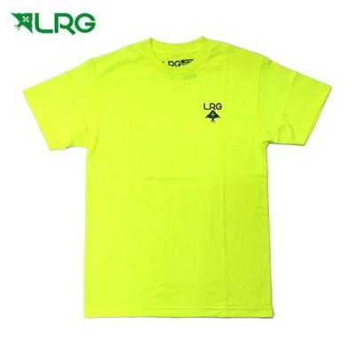 LRG メンズ半袖Tシャツ LOGO PLUS TEE J181070 Neon Yellow L14-M 正規品