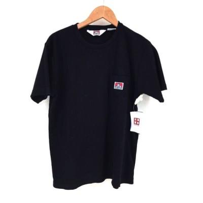 ベンデイビス BEN DAVIS サーマルクルーネックポケットTシャツ メンズ M 中古 210427