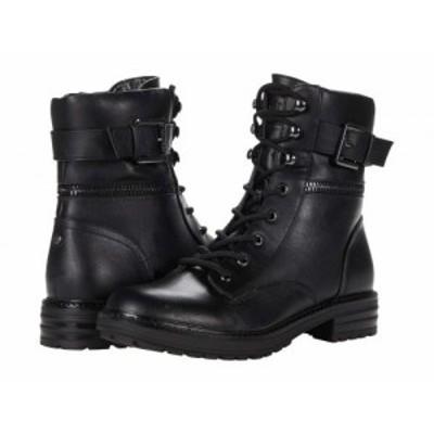 GUESS ゲス レディース 女性用 シューズ 靴 ブーツ レースアップ 編み上げ Gallton Black【送料無料】