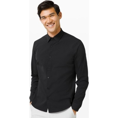 ルルレモン lululemon メンズ シャツ トップス Airing Easy Long Sleeve Shirt black