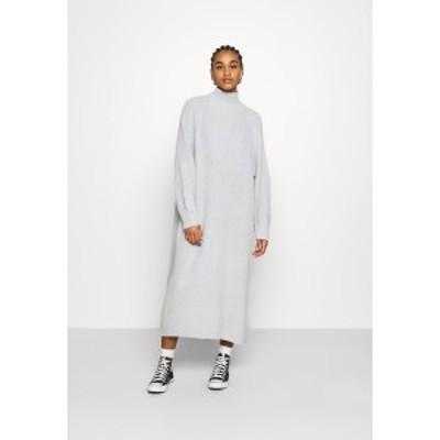モンキ レディース ワンピース トップス KEAN DRESS - Jumper dress - grey dusty light grey dusty light