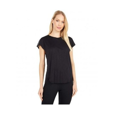 Brooks ブルックス レディース 女性用 ファッション アクティブシャツ Spirit Short Sleeve - Black Jacquard/Black